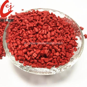 Butiran Masterbatch Warna Food Grade Merah